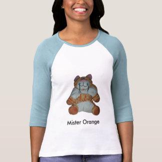 gato, senhor Alaranjado Camiseta