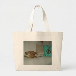 Gatos bonitos bolsas de lona
