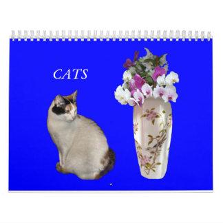 Gatos Calendário