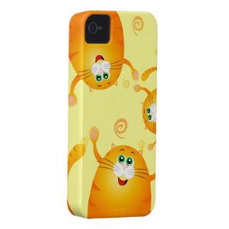 Gatos engraçados, capa de iphone 4 capas para iPhone 4 Case-Mate
