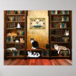 Gatos literários posteres