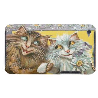 Gatos no amor - capa do ipod touch do vintage capa para iPod touch