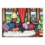 Gatos no cartão do Sunroom