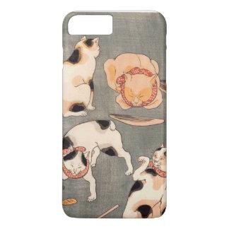 Gatos por Kuniyoshi Utagawa Capa iPhone 7 Plus