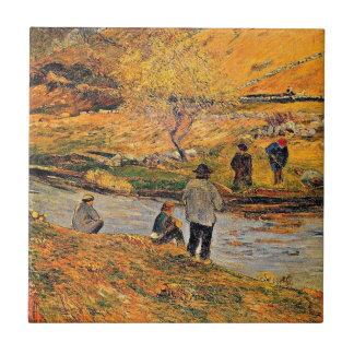 Gauguin - pescador bretão
