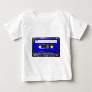 Gaveta azul da etiqueta do anos 80 do vintage camisetas