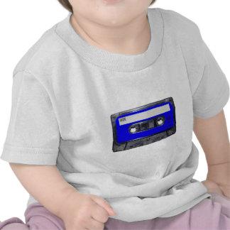 Gaveta azul da etiqueta do anos 80 do vintage t-shirt