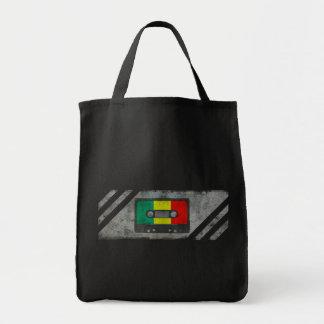 Gaveta urbana da reggae sacola tote de mercado