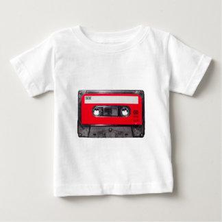 gaveta vermelha da etiqueta do anos 80 camiseta para bebê