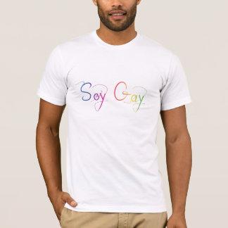 Gay da soja camiseta