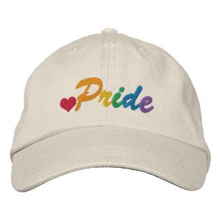Gay do orgulho do arco-íris temático boné bordado