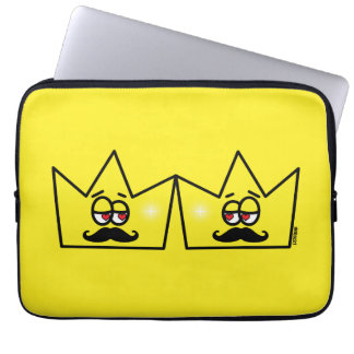 Gay Rei Coroa King Crown Capa De Computador Notebook