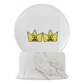 Gay Rei Coroa King Crown Globo de Neve