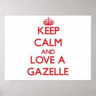Gazela Posters