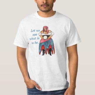 Gazer de cristal t-shirts