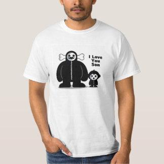 """""""Gazzzpio & seu pai - eu te amo filho """" Tshirts"""