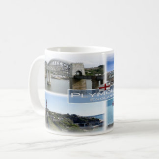 GB Inglaterra - Plymouth Devon - Caneca De Café