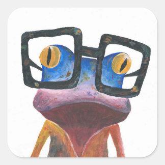 Geco com etiqueta retro dos vidros