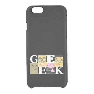 Geek Capa Para iPhone 6/6S Clear