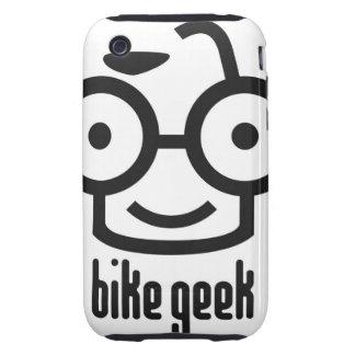 Geek da bicicleta capa para iPhone 3 tough