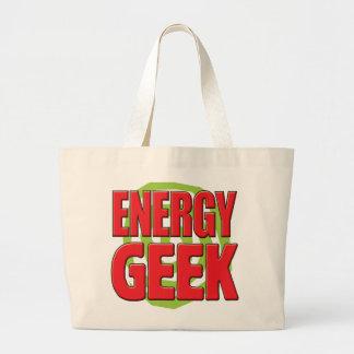 Geek da energia bolsa de lona