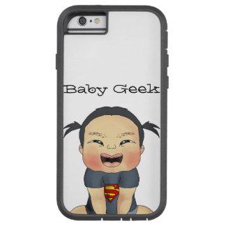Geek do bebê (menina) capa iPhone 6 tough xtreme