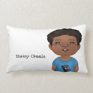 Geek do bebê (menino) almofada lombar