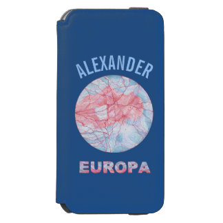 Geek do espaço da lua de Jupiters do Europa