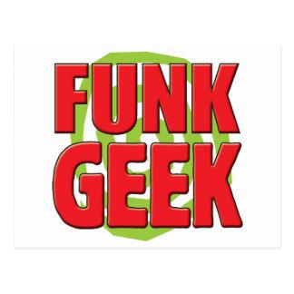 Geek do funk cartão postal