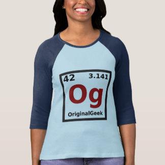 Geek do original de OG Camiseta