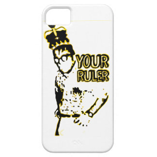 Geek do rei sua régua capas para iPhone 5