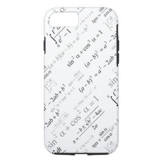 Geek engraçado da matemática das fórmulas da capa iPhone 7