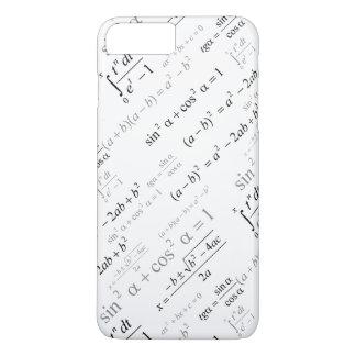 Geek engraçado da matemática das fórmulas da capa iPhone 7 plus