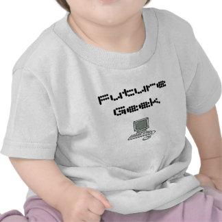 Geek futuro camiseta