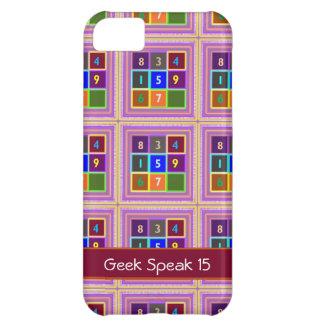 GEEK: Jogos de questionário para miúdos Capa Para iPhone 5C