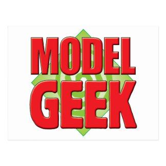 Geek modelo v2 cartões postais