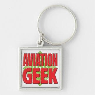 Geek v2 da aviação chaveiros