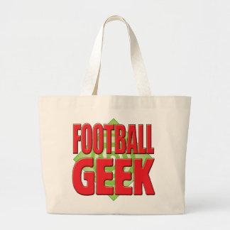 Geek v2 do futebol bolsa de lona