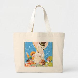 Gelado o boneco de neve e as crianças bolsa para compra