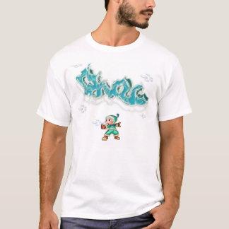 Gelado o homem dos grafites II Camiseta