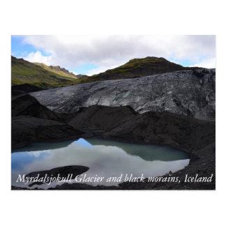 Geleira islandêsa cartão postal