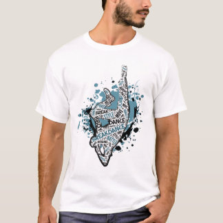 Gelo Alt 2 do cotovelo de Breakdance Camiseta