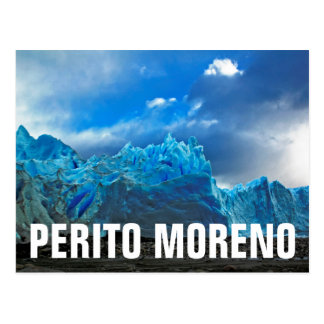 Gelo azul - Perito Moreno Cartão Postal