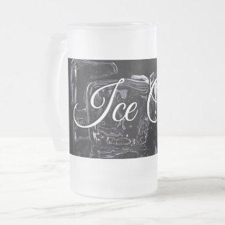 Gelo - caneca fria do fosco para sua bebida