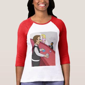 Gelo na camisa das rochas T Camisetas