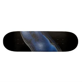 Gelo preto metálico shape de skate 20cm