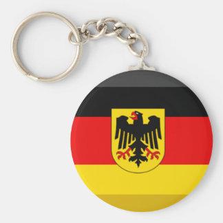 Gema da bandeira da alemanha chaveiro