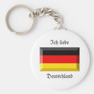 Gema da bandeira da alemanha chaveiros
