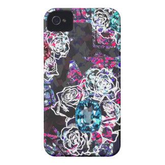 Gema da flor selvagem capinhas iPhone 4