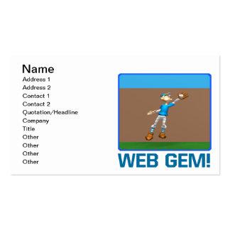 Gema da Web Cartão De Visita